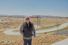 Bill Jackson from Jackson Land Design at the IGSFMM site.