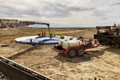 Starr Corporation finishing the concrete at the IGSFMM.