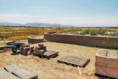 Retainer Walls IGSFMM. Construction by Q & A Landscaping. Block Donated by Rocky Mountain Supply.