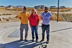 Scotty Carpenter, Rebecca Webb & Chance Trube.