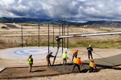 Starr Corporation & Pocatello Ready Mix - Cement work on the IGSFMM pathway.