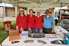 IGSFMM booth at the 19th Annual POW-MIA Awareness Rally