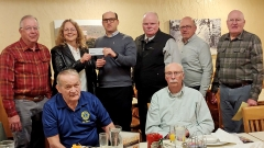 Lions Club check presentation to IGSFMM.