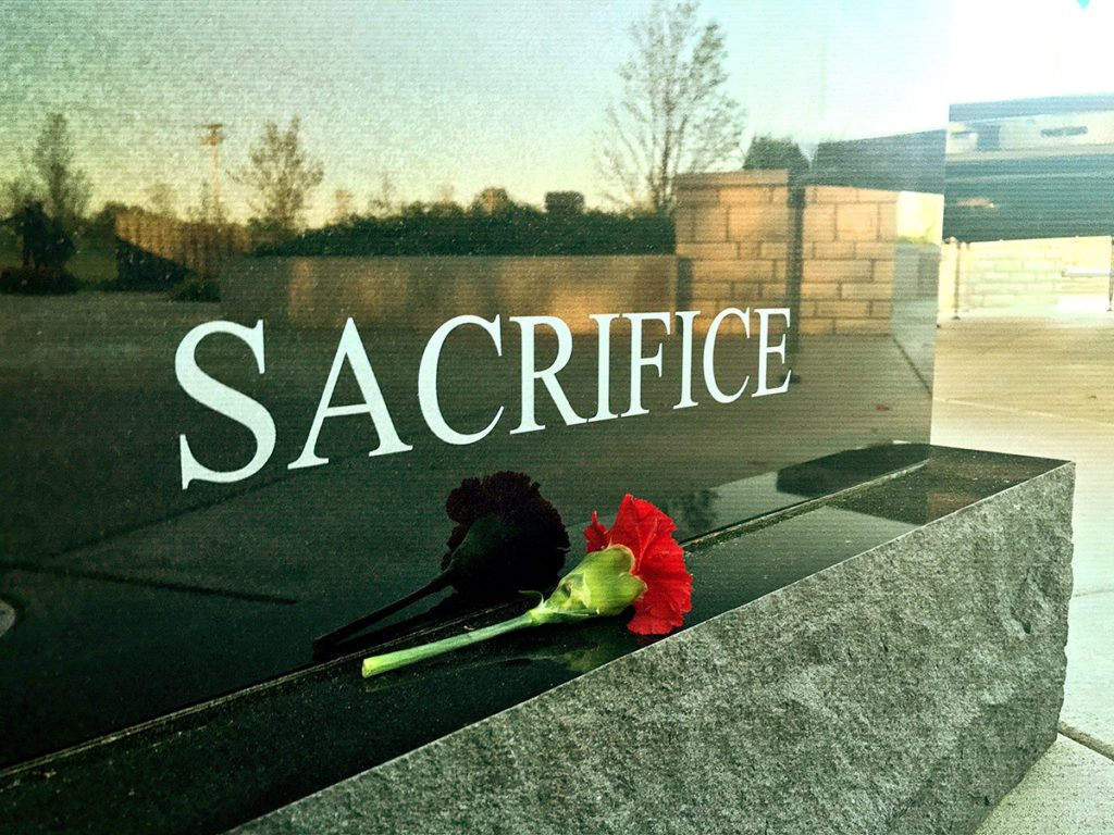 Gold Star Memorial Monument - Sacrifice