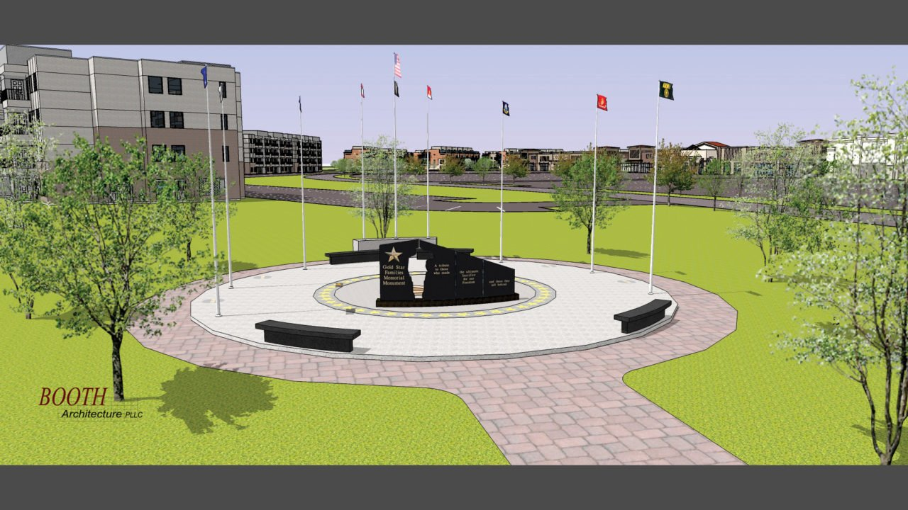 Idaho Gold Star Families Memorial Monument